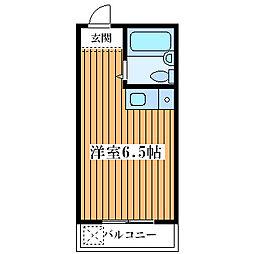 シャルムメゾン塚本[1階]の間取り