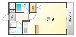 マンションOZ[4階]の間取り