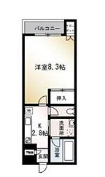 エクセレント湘南[2階]の間取り