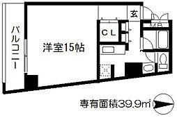 コートハウス[8階]の間取り