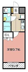 エル プランドール[103号室]の間取り