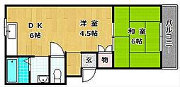 M'PLAZA津田駅前六番館[1階]の間取り