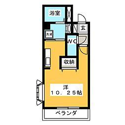 グラウィスK[2階]の間取り