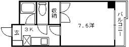 ラシェール51[4階]の間取り