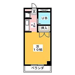 グリーンヒル榊原[2階]の間取り
