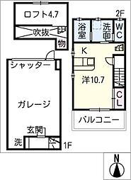 [タウンハウス] 愛知県西尾市吉良町津平中村 の賃貸【/】の間取り