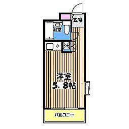 マ・メゾン西荻窪[3階]の間取り