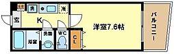 KWレジデンス阿波座[6階]の間取り