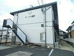 岡山県倉敷市福田町古新田の賃貸アパートの外観