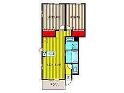 (仮)笹目1丁目D-room[1階]の間取り