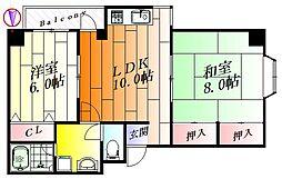 シャルム89[2階]の間取り