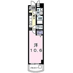 カーサ ドルチェ[2階]の間取り