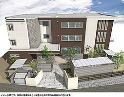 ベルパイネ大倉山[1階]の外観