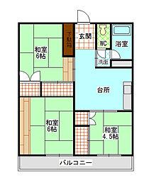鈴木マンション[2階]の間取り