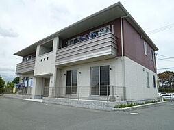 静岡県浜松市南区東町の賃貸アパートの外観