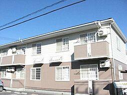 栃木県下野市緑6丁目の賃貸アパートの外観