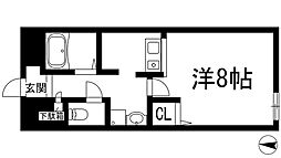 ドーマ・ナカムラ[3階]の間取り