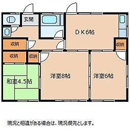 南井アパート[1階]の間取り