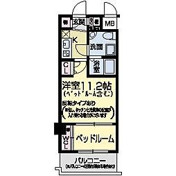 セレニテ甲子園I[0409号室]の間取り