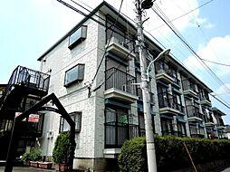東京都国立市青柳2丁目の賃貸マンションの外観