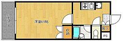 ラ・フェスタ吉塚[503号室]の間取り