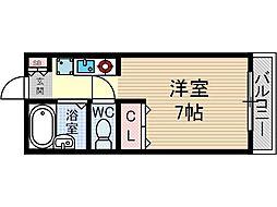 メゾン・エルアンドジョイ[1階]の間取り