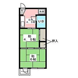 上原ビル[3階]の間取り