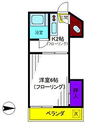 みつわマンション[3階]の間取り