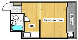 ローレンスハイム[2階]の間取り