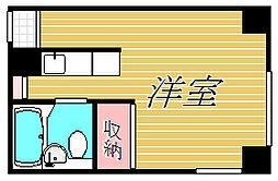メタセコイアビル[4階]の間取り