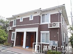 愛知県豊田市保見町中三戸口の賃貸アパートの外観