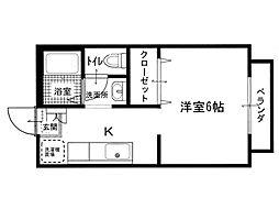 鹿隈リゾートタウン3[2階]の間取り