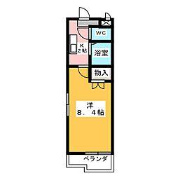 パークサイド高蔵寺[1階]の間取り