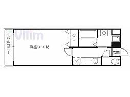 クルミナーレ[3階]の間取り
