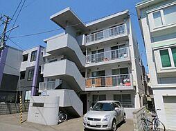 北海道札幌市白石区東札幌二条2丁目の賃貸マンションの外観