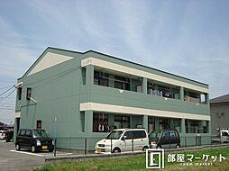 愛知県岡崎市大平町字大割の賃貸マンションの外観