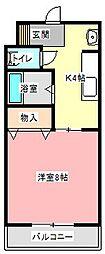 メゾン小宮[3階]の間取り