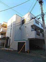 埼玉県蕨市中央2の賃貸マンションの外観