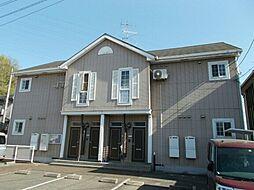 広島県福山市伊勢丘8丁目の賃貸アパートの外観