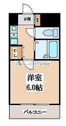 イマザキマンション[9階]の間取り