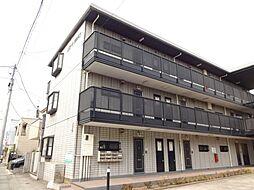 千葉県市川市東菅野2丁目の賃貸マンションの外観
