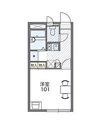 シェル ガーデンII[2階]の間取り