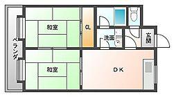MKSマンション[2階]の間取り
