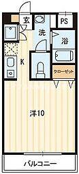 リミエール野口[3階]の間取り