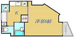 メインステージ赤塚[2階]の間取り