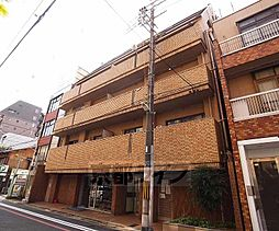 京都府京都市中京区骨屋之町の賃貸マンションの外観