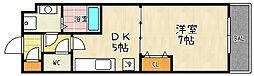 フレンドリーハウス匠 大津逢坂[105号室]の間取り