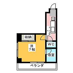 CITY M−56[6階]の間取り