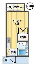 サンハイツ平井[102号室]の間取り