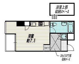 是空HORIKAWA[5階]の間取り